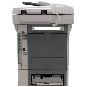 HP LaserJet M3035XS Laser Multifunction Printer - Monochrome - Plain Paper Print - Floor Standing - Copier/Fax/Printer/Scanner - 35 ppm Mono Print - 1200 x 1200 dpi Print - Automatic Duplex Print - 35 cpm Mono Copy - 1 x Input Tray 500 Sheet, 1 x Multipur 2