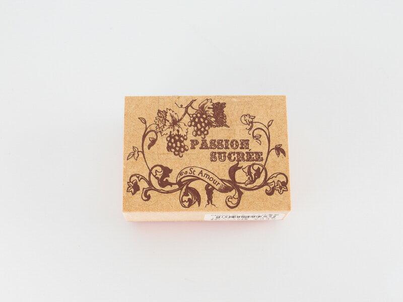 *小徑文化*日本進口手作雑貨 TOKYO ANTIQUE stamp - ホームメイド葡萄 ( B4055HO-BD )
