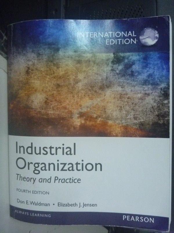 ~書寶 書T2/大學商學_ZAJ~Industrial organization 4 e