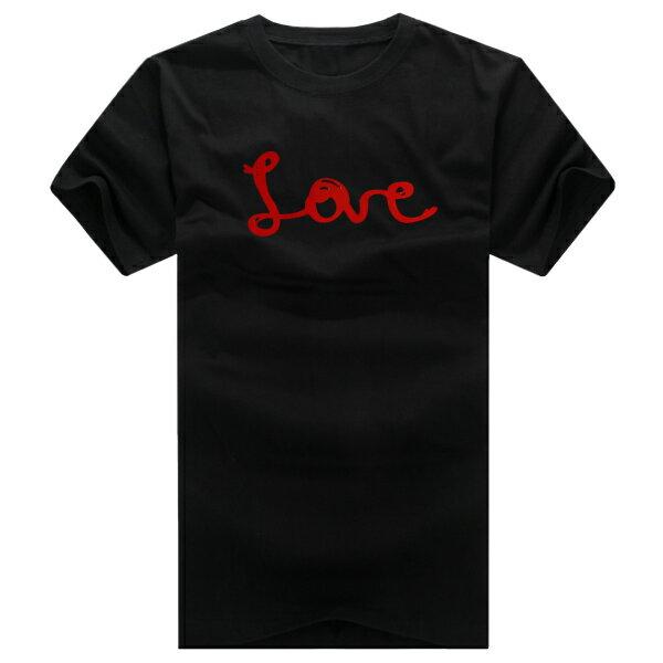 T恤 親子裝 全家福  可客製化 MIT台灣製純棉短T 班服◆快速出貨◆獨家配對情侶裝.紅線LOVE愛心【YC168】可單買.艾咪E舖 3