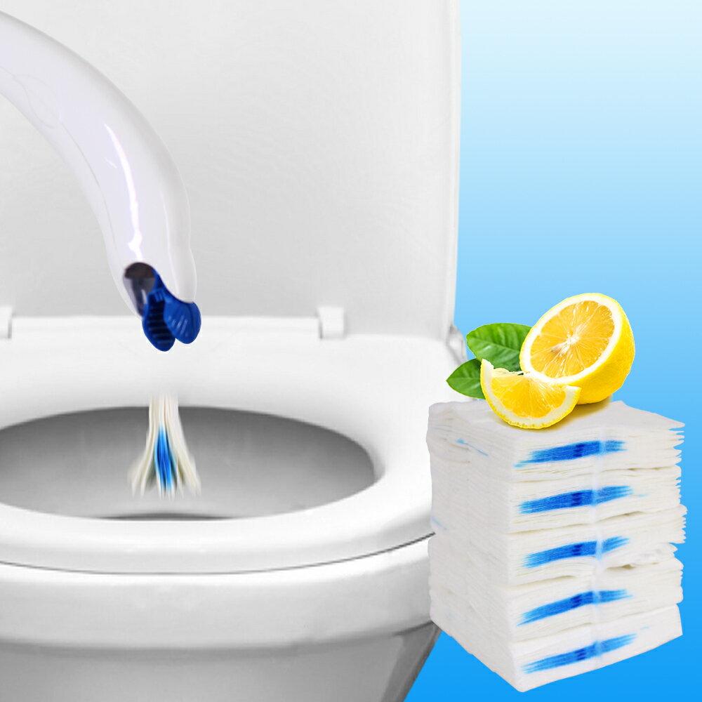 JoyLife嚴選 環保可分解專用刷頭(12入)需搭配拋棄式浴室馬桶刷(MP0306) 1