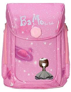 全球獨家台灣最先開賣BaMo-灰公主-全自動上鎖硬殼鋁條護脊書包100~150cm(1-6)~胸扣腰扣超輕量