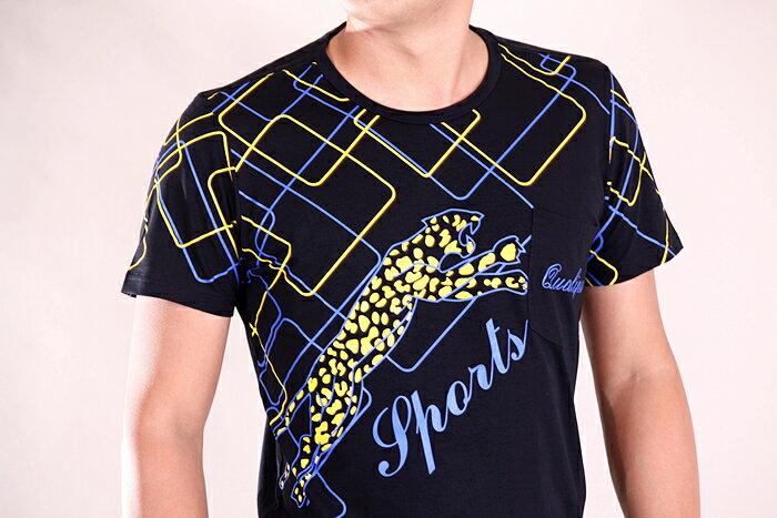 【CS衣舖 】韓系 合身版 萊卡彈力 短袖T恤 3109 5
