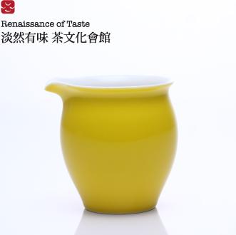 【淡然有味】帝黃色茶海 ● 茶具組