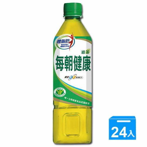 御茶園每朝健康綠茶 650ml*24 瓶【愛買】