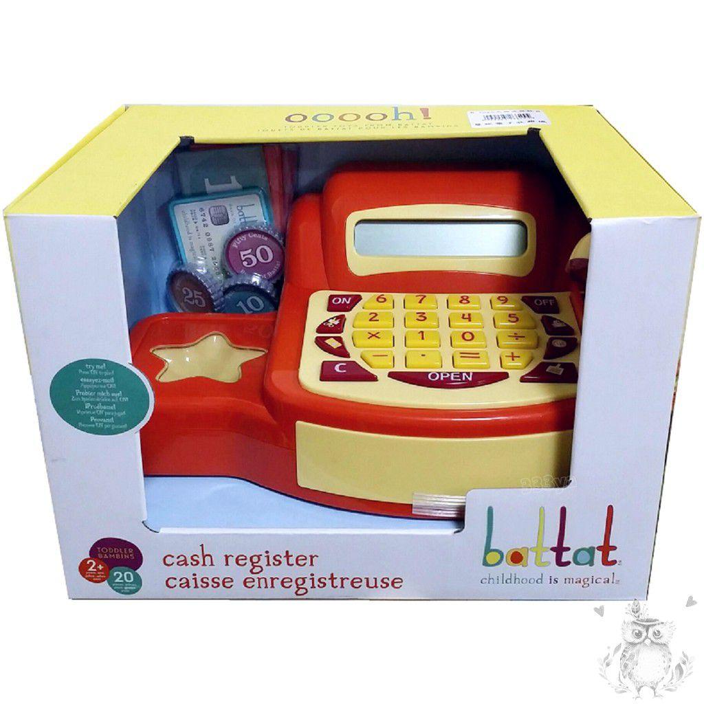 B Toys 美國感統玩具 蔓妮電子收銀機