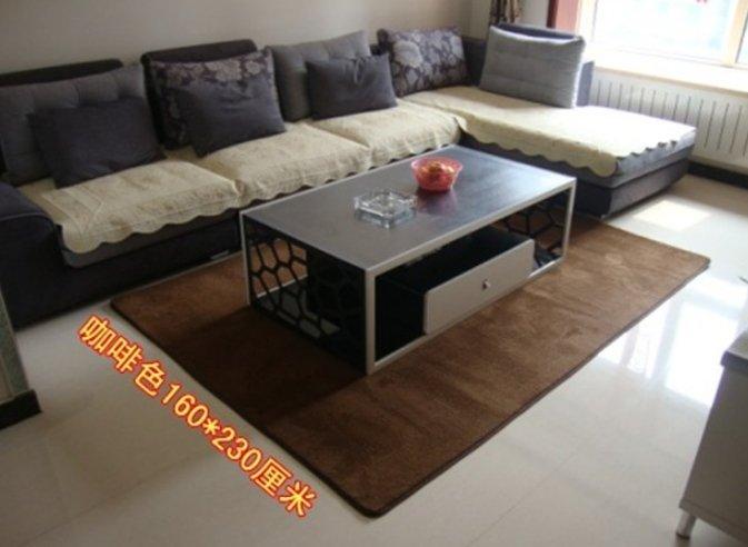 日系 訂製 珊瑚絨短毛地毯臥室客廳 居家 必備 潮流 防水 防滑 訂製 70*120