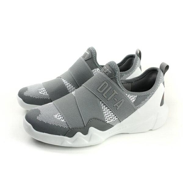 SKECHERSDLT-A懶人鞋休閒鞋好穿脫女鞋灰色66666091GYWno793