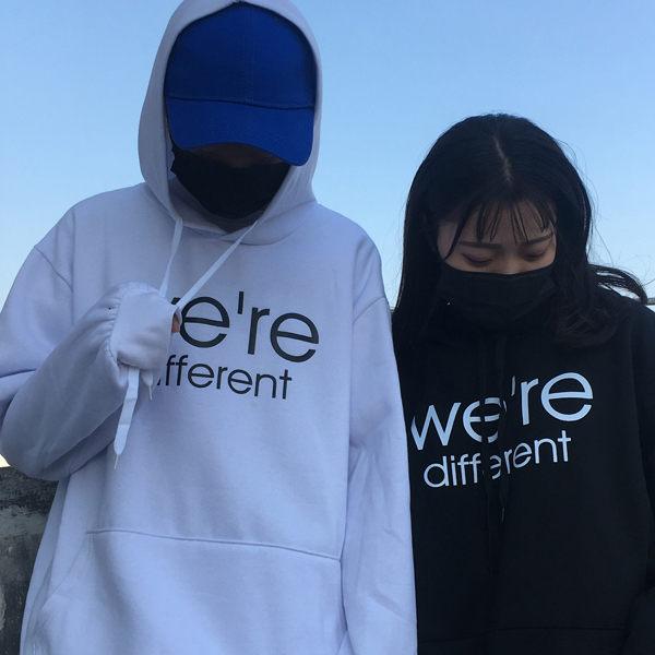 刷毛T恤 T恤 T-Shirt 情侶T恤 暖暖刷毛 MIT台灣製 我們不一樣【YS0751】可單買.艾咪E舖 2