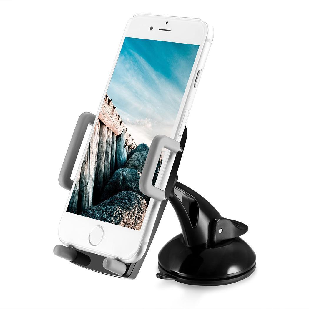 Air Vent Dashboard Windshiled Mount Car Smartphone Holder Mount Black Color 0