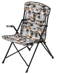 【鄉野情戶外用品店】 LOGOS  日本   白迷彩野營椅/折疊椅 摺疊椅 休閒椅/LG73174043
