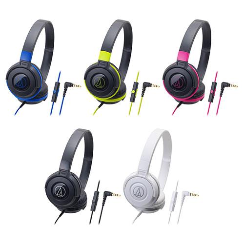 耀您館★日本鐵三角線控耳機麥克風ATH-S100is耳罩式耳機Apple蘋果iPhoneiPodiPad654SE+plusi6i5air