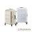 日本PANTHEON 19吋 網美行李箱 輕量鋁框硬殼旅行箱-白拉絲 0