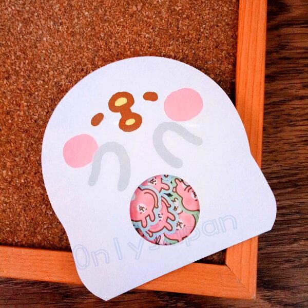 【真愛日本】18080600019造型顆粒貼紙包-P助卡娜赫拉的小動物們兔兔P助小雞貼紙紙製品裝飾貼紙收藏