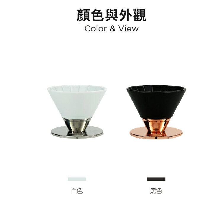 amadana 〔贈送濾紙 50枚〕Beasty Coffee 咖啡濾杯 濾杯 陶瓷濾杯 不銹鋼 咖啡器皿 日本製