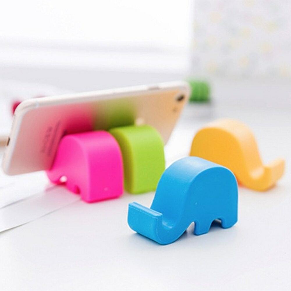 瑪奇可愛大象手機支架 手機座【BlueCat】【JT0254】