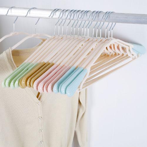 新式360度乾濕兩用無痕防滑衣架 可旋轉衣鉤 多功能曬衣架 兩側掛鉤設計