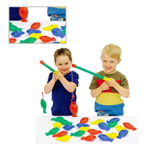 【華森葳兒童教玩具】感覺統合系列-形狀釣魚樂 N9-EA-40