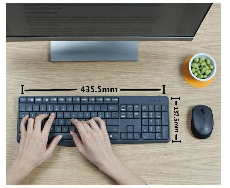 第一品牌 羅技無線鍵盤滑鼠組 電競滑鼠 桌上型電腦 筆記型電腦 mk235 5