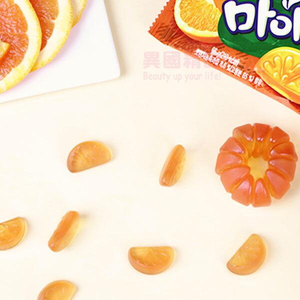 韓國GS25超商限定橘子汁軟糖66g用韓國濟州島的橘子果汁製成!連形狀都做成橘子的形狀!超可愛!連韓國IG.網紅部落客.都最近瘋著打卡的超熱門商品【特價】§異國精品§