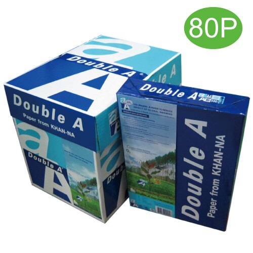 【Double A 影印紙】Double A 80P A4 多功能紙/影印紙 (5包/箱)