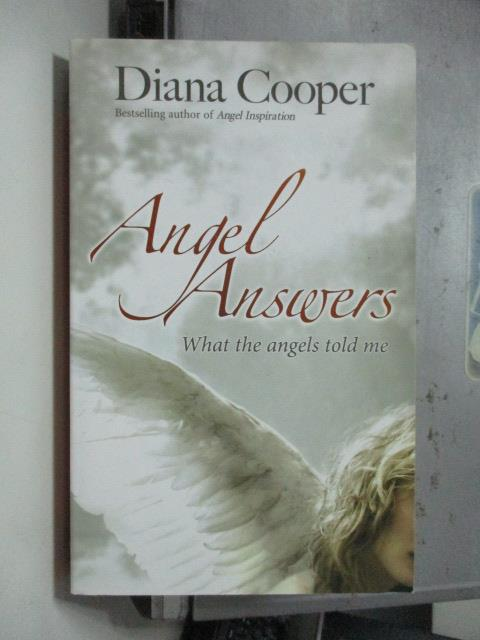 ~書寶 書T7/原文小說_OSL~Angel Answers_Diana Cooper