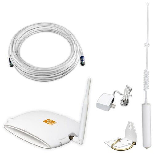 zBoost SOHO Cell Phone Signal Booster for Small Homes and Offices - 824 MHz, 869 MHz, 1850 MHz, 1930 MHz to 849 MHz, 894 MHz, 1910 MHz, 1990 MHz - 3G - Omni-directional Antenna 0