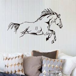 壁貼 奔騰的駿馬 居家裝飾牆貼【YV7535】HappyLife