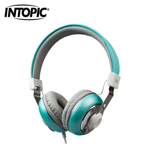 INTOPIC廣鼎音樂摺疊耳機麥克風(JAZZ-M308海綠)【三井3C】