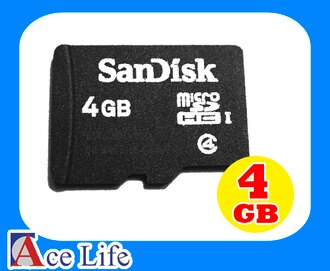 【九瑜科技】Sandisk 4G 4GB Class4 C4 micro SD SDHC TF 記憶卡 手機 行車紀錄器 Kingston Toshiba