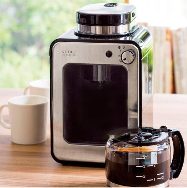 【SIROCA】自動研磨咖啡機 STC-408