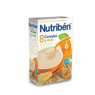 【安琪兒】西班牙【Nutriben 貝康】8種穀類水果麥精600g