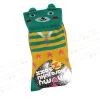 愚人節 KUSO療癒整人玩具周邊商品推薦【銀站】日本Oh my harajuku soxx 馬戲團熊造型襪