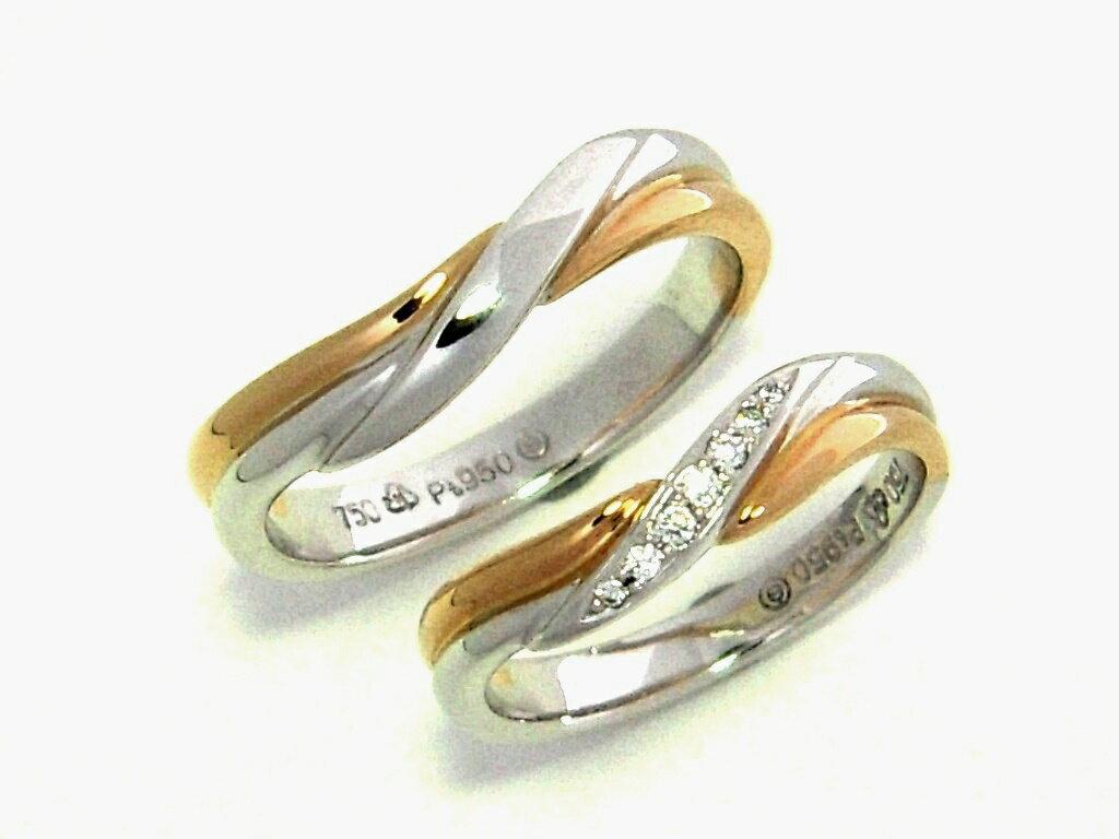 《深情款款》鉑金鑽石對戒【名朵珠寶 Vjade Jewelry 】