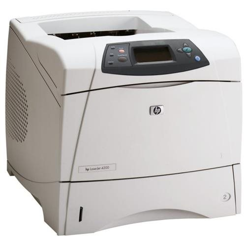 HP LaserJet 4200 Monochrome Office Printer 0