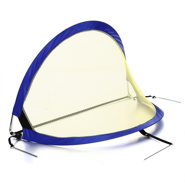 1 Pair Pop-up Soccer Net Portable Soccer Goals Football Training with Carry Bag 3