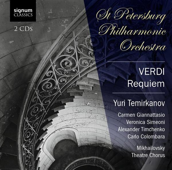 signum泰米卡諾夫(YuriTemirkanov)威爾第:安魂曲(Verdi:Requiem)【2CDs】