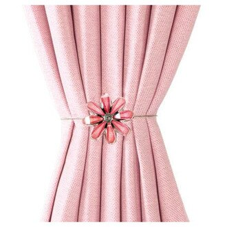 磁鐵式窗簾束帶FLOWER2 RO