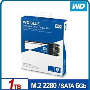 WDSSD1TBM.2SATA3DNAND固態硬碟藍標**五年保固**