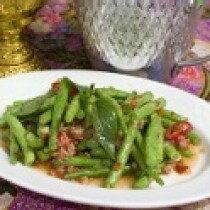 【雲泰廚房餐廳級料理包】蝦醬四季豆 250g