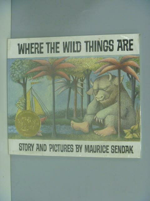 【書寶二手書T1/繪本_ZDY】Where the wild things are_Maurice Sendak