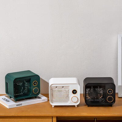 風扇 噴霧水冷風扇 桌面風扇 加濕噴霧迷你小型空調扇 可室內降溫