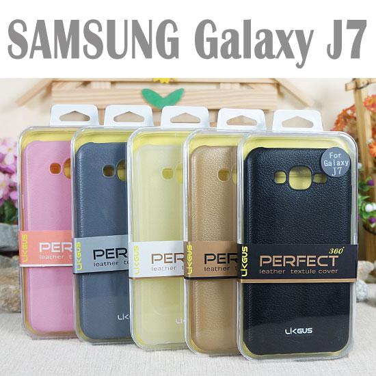 ~0.7mm~三星 SAMSUNG Galaxy J7 J700F J7008 觸感皮革保