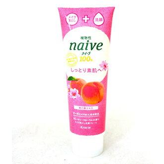 【敵富朗超巿】Kracie植物雙效洗面乳-蜜桃190g