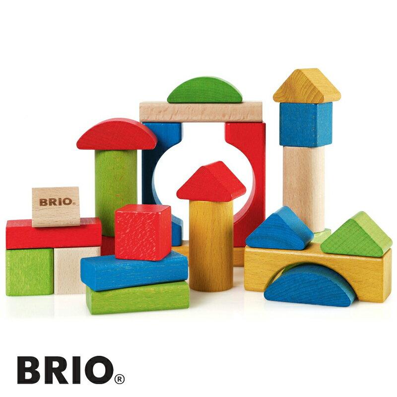 滿600   BRIO 木頭積木 親子遊戲積木玩具 兒童玩具 497~139