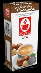 與Nespresso膠囊咖啡機相容-BONINI膠囊咖啡 榛果風味