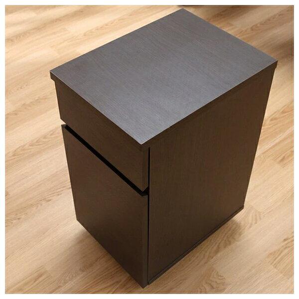 ◎系統桌 TRIPLO 119 DBR 複合式系統書桌櫃組 NITORI宜得利家居 6