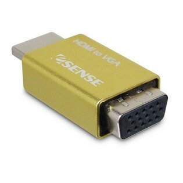 EsenseHDMITO(轉)VGA免電源轉接器《免運》(4712834517383)
