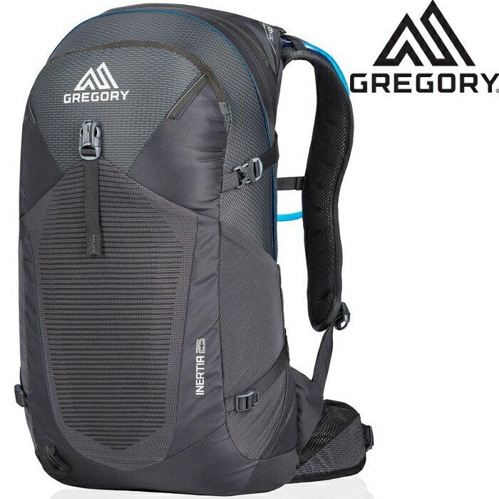 Gregory Inertia 25 登山背包/郊山小背包/透氣背網包 男款 25升 92486 0614 陰影黑 台北山水