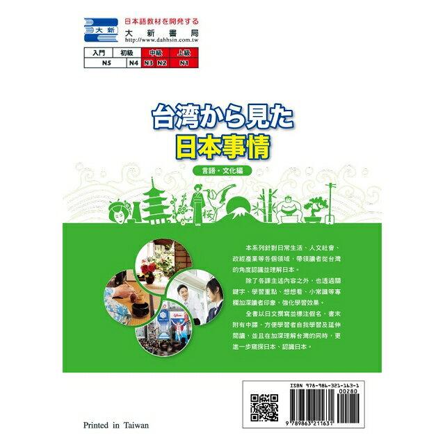 台湾から見た日本事情:言語‧文化編 1